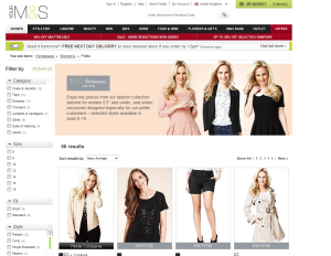 Marks and Spencer Petite