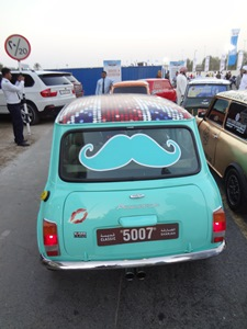 Dubai Expo Campaign Mini with Moustache