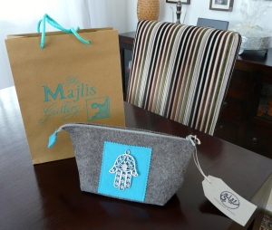 Stephanie Deaves Purse from Majlis Gallery Bastakiya Dubai